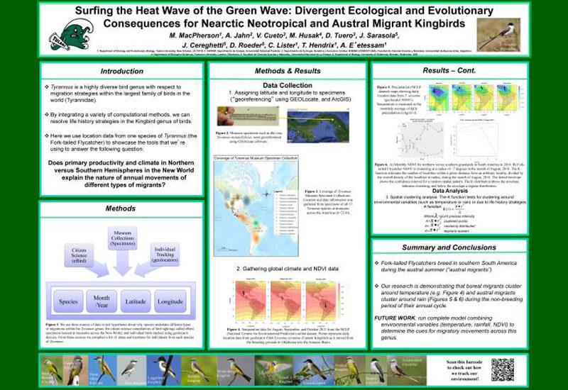 Poster presentations at NAOC2016
