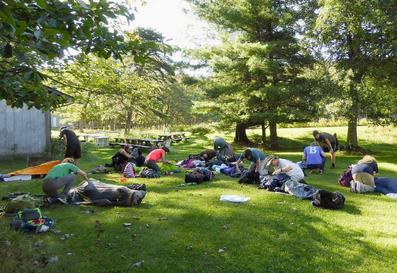 A golden opportunity: SOLO Wilderness Medicine, Wilderness First Aid course